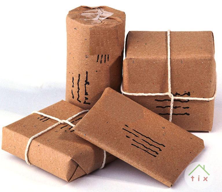 Рулон упаковочной крафт бумаги 9...