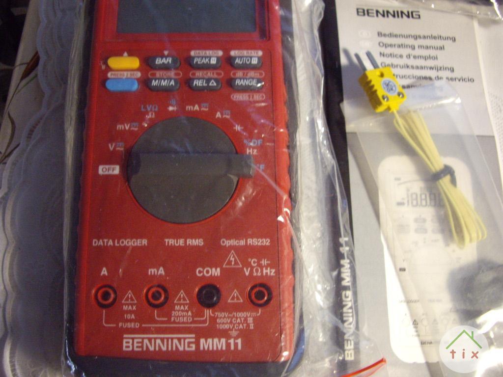 Цифровой мультиметр BENNING MM -11 - Германия.