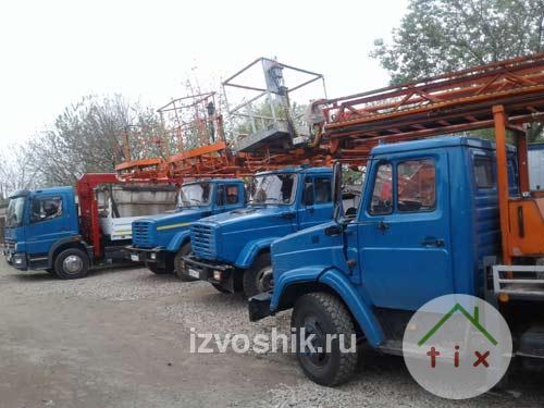 Аренда автовышки в Красково, Томилино, Москва