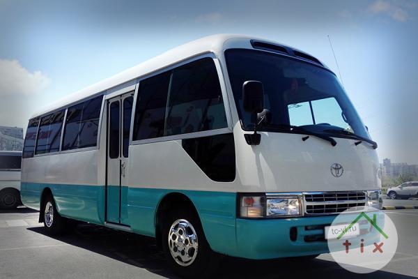 Аренда автобуса во Владивостоке