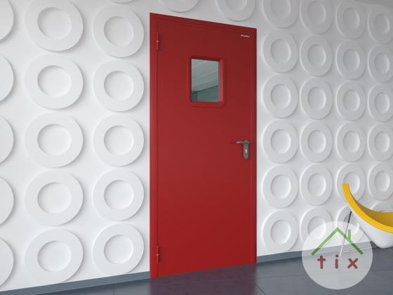 Дверь техническая или противопожарная