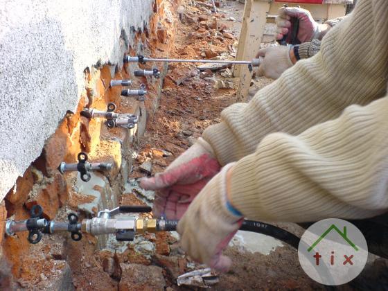 Гидроизоляция инъекционная по низким ценам в Алуште.