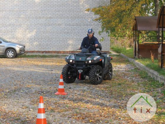 Квадроцикл обучение