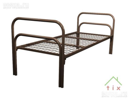 Кровати металлические для казарм, Кровати одноярусные