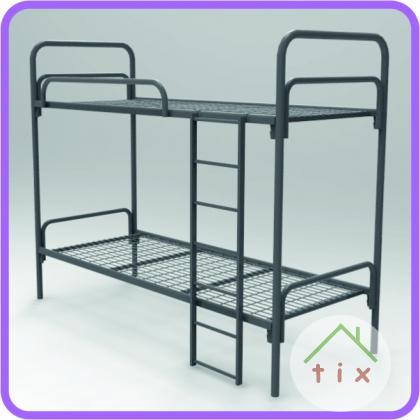 Кровати металлические для хостелов, 1,2,3хъярусные