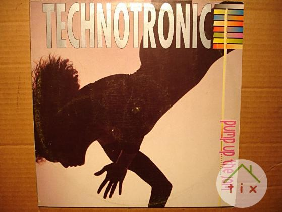 Пластинка виниловая Technotronic – Pump Up The Jam