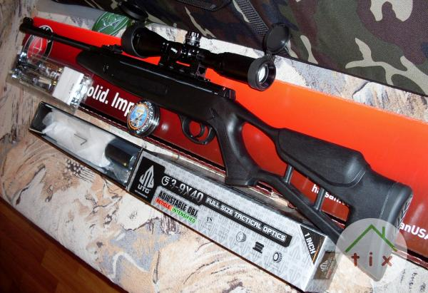 Пневматические винтовки HATSAN Striker Edge. в городе Москва
