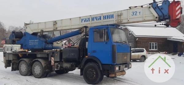 Продам автокран Галичанин ;кс-55729В; 32тн-31м