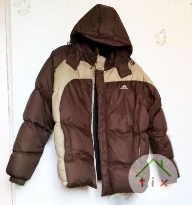 Продам зимнюю пуховую куртку Adidas