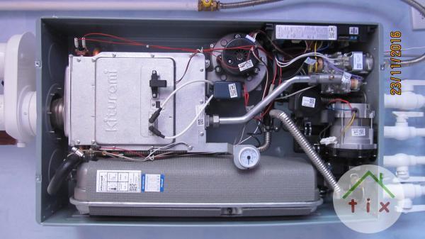 Ремонт газовых настенных котлов и эл.водонагревателей