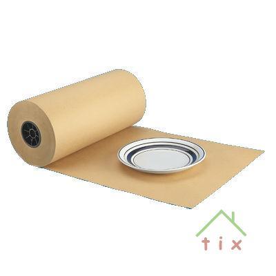 Рулон упаковочной крафт бумаги 9 метров
