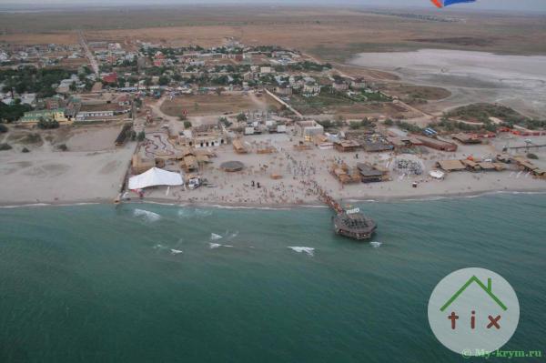 участок на побережье Черного моря 2 га .500 м. море