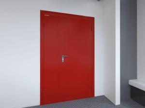 Дверь техническая или проти... в городеБарнаул
