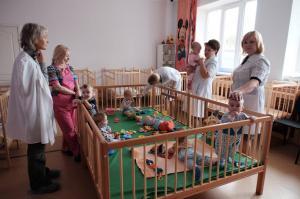 Манеж в Дома ребенка и Детс...