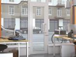 Оконно-дверная система с терморазрывом