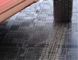 Литое резиновое для гаража сборное покрытие из плиток