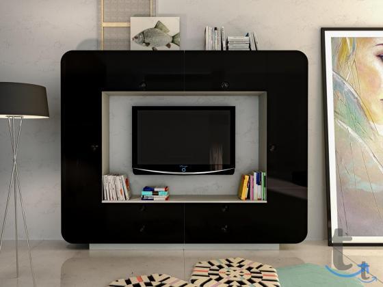 Гостиная Некст (Шкаф комбинированный НМ 014.59)