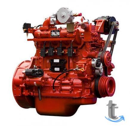 Двигатель газовый Yuchai YC4G190N-50 (новый) на автоб