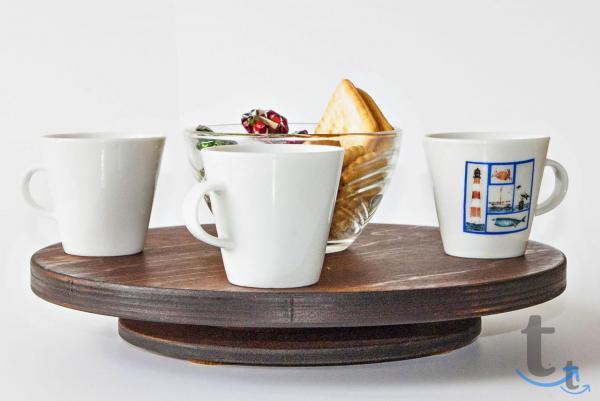 Крутящаяся мини-подставка для сервировки стола