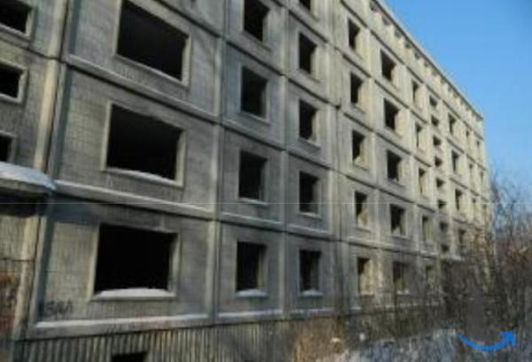 Незавершенный строительством 5-этажный объект