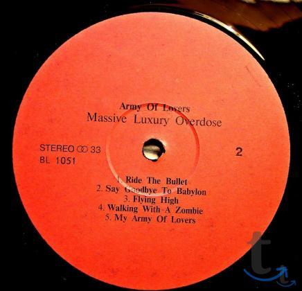 Пластинка виниловая Army Of Lovers - Massive Luxury O