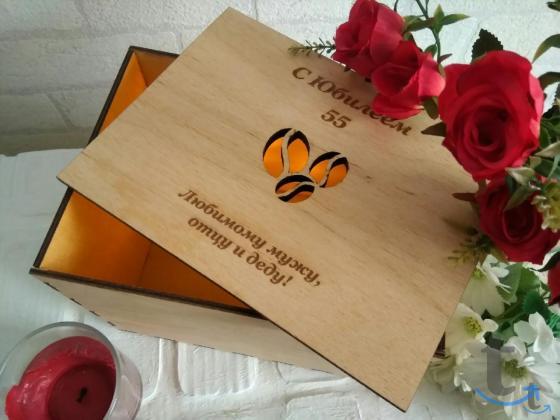 Подарочные коробки (Деревянные)