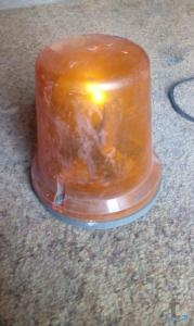 Проблесковый маяк оранжевый