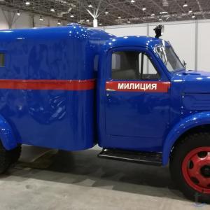 Продам ГАЗ-51(Милицейский фургон)