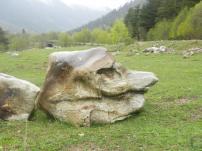 Камни природные большие