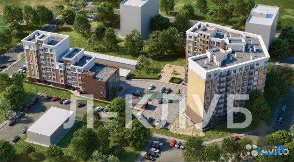 1-к квартира, 43.9 м², 5/10 эт. в городе Калининград