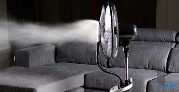 Вентилятор напольный с увлажнителем воздуха DELTA DL-