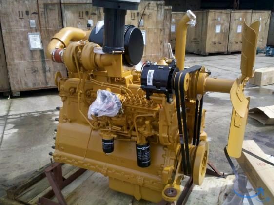 Двигатель Shanghai C6121ZG57 (SC11CB184G2B1) для буль
