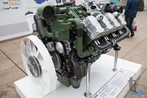Двигатель Weichai WP17.700E501 (новый) для тяжёлой сп