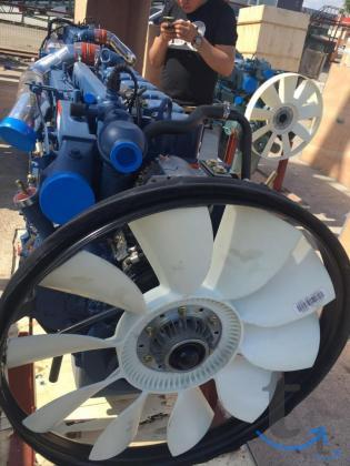 Двигатель Weichai WP10.380E32 Евро-2 для Shaanxi, Sha