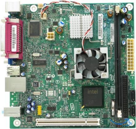 Материнская плата Intel D945 GCLF