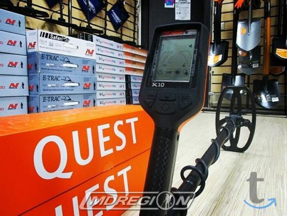 Металлоискатель Quest X10