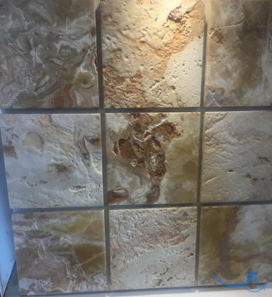 Мозаика из природного камня травертина мрамора оникса для лучших интерьеров