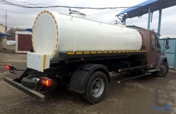 Молоковоз газ 5 тонн