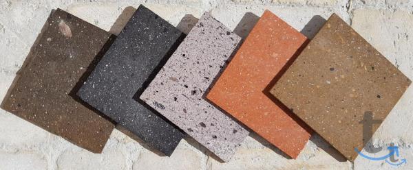 плитка камень туф красный Аштаракский для фасада и забора поставка 3 дня