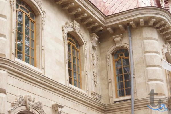 Фасадный камень травертин в наличии склады Сочи Красн