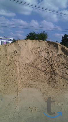 Песок жёлтый карьерный.