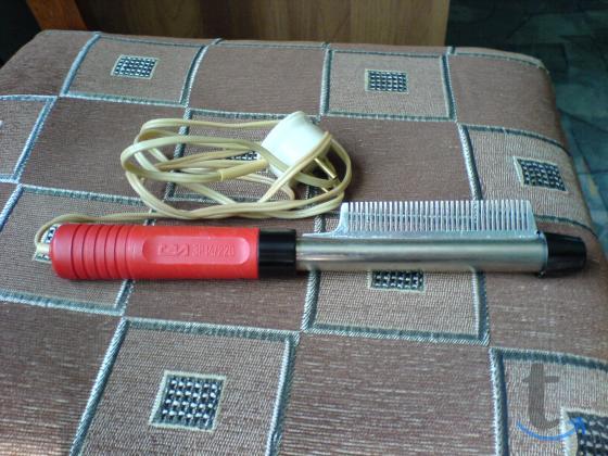 Плойка-расчёска, компактный фен