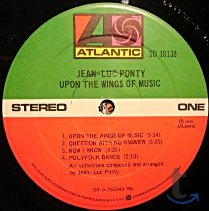 Пластинка Jean-Luc Ponty – Upon The Wings Of Music