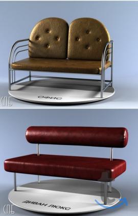 Мягкие скамьи, банкетки и диванч...