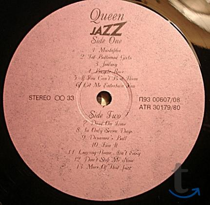 Пластинка виниловая  Queen – Jazz