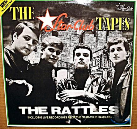 Пластинка виниловая The Rattles – The Star-Club Tapes
