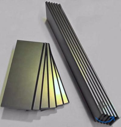 Лопатки графитовые для насосов компрессоров