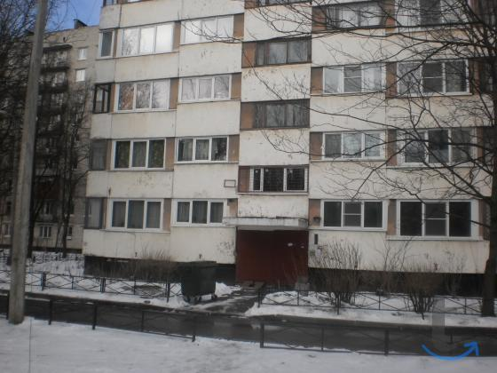 1-к квартира, 33 м², 9/12 эт. на пр. Ветеранов 82