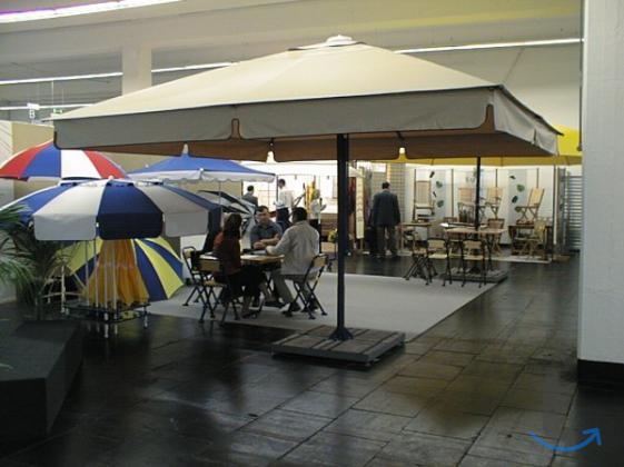 Зонт 3х3 м. в городеКраснодар