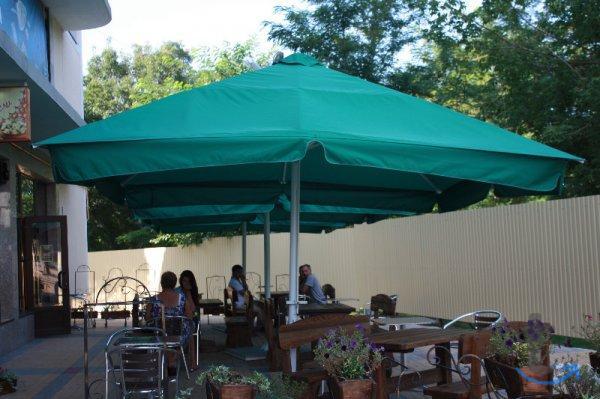 Зонт 4 м. диаметром алюминиевый